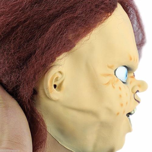 máscara chucky palhaço boneco assassino cosplay frete gratis