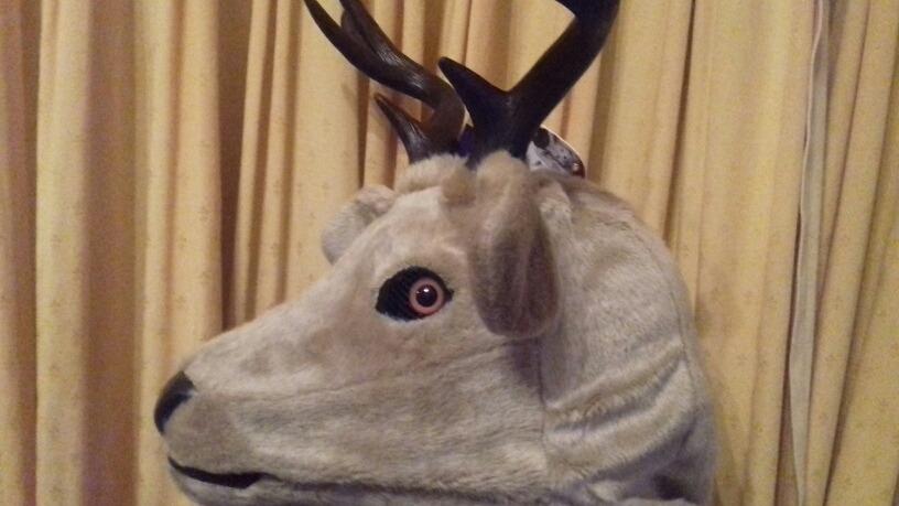 Mascara Ciervo 100% Latex C cuernos. Cotillon Chirimbolos -   3.119 ... 2cf811c595c3
