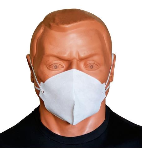 mascara cirúrgica hospitalar descartável tnt branca 100un