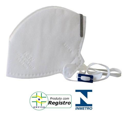 mascara cirurgica n95 com anvisa inmetro respirador c/ 10 un