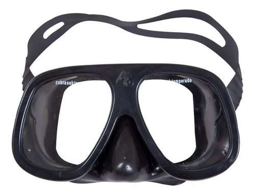 máscara cobra super puma silicone mergulho pesca caça sub