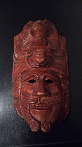 mascara coleccionable  de san cristobal de las casas chiapas