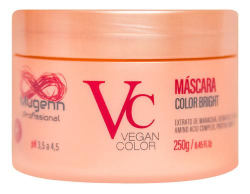 máscara color bright vegano mugenn cosméticos 250ml
