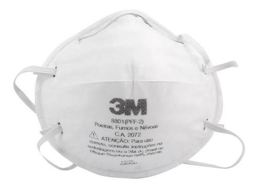 máscara concha 8801 pff2 n95 3m com certificação inmetro