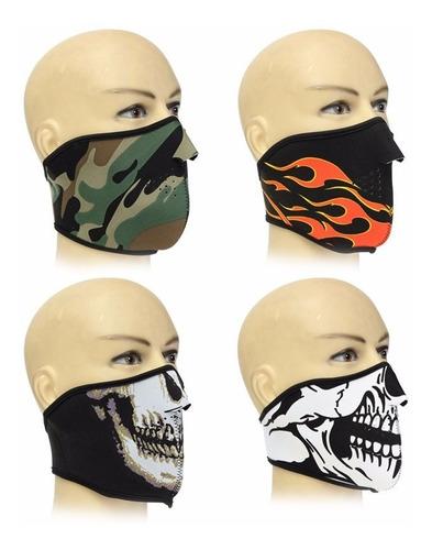 mascara cortaviento skull calavera ghost duty 2016