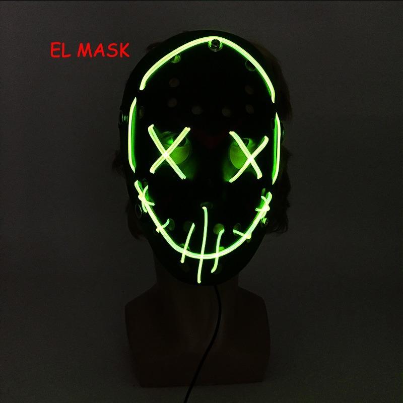 Mascara Cosplay Halloween The Purge El Wire Jack Terror - R$ 129,00 ...