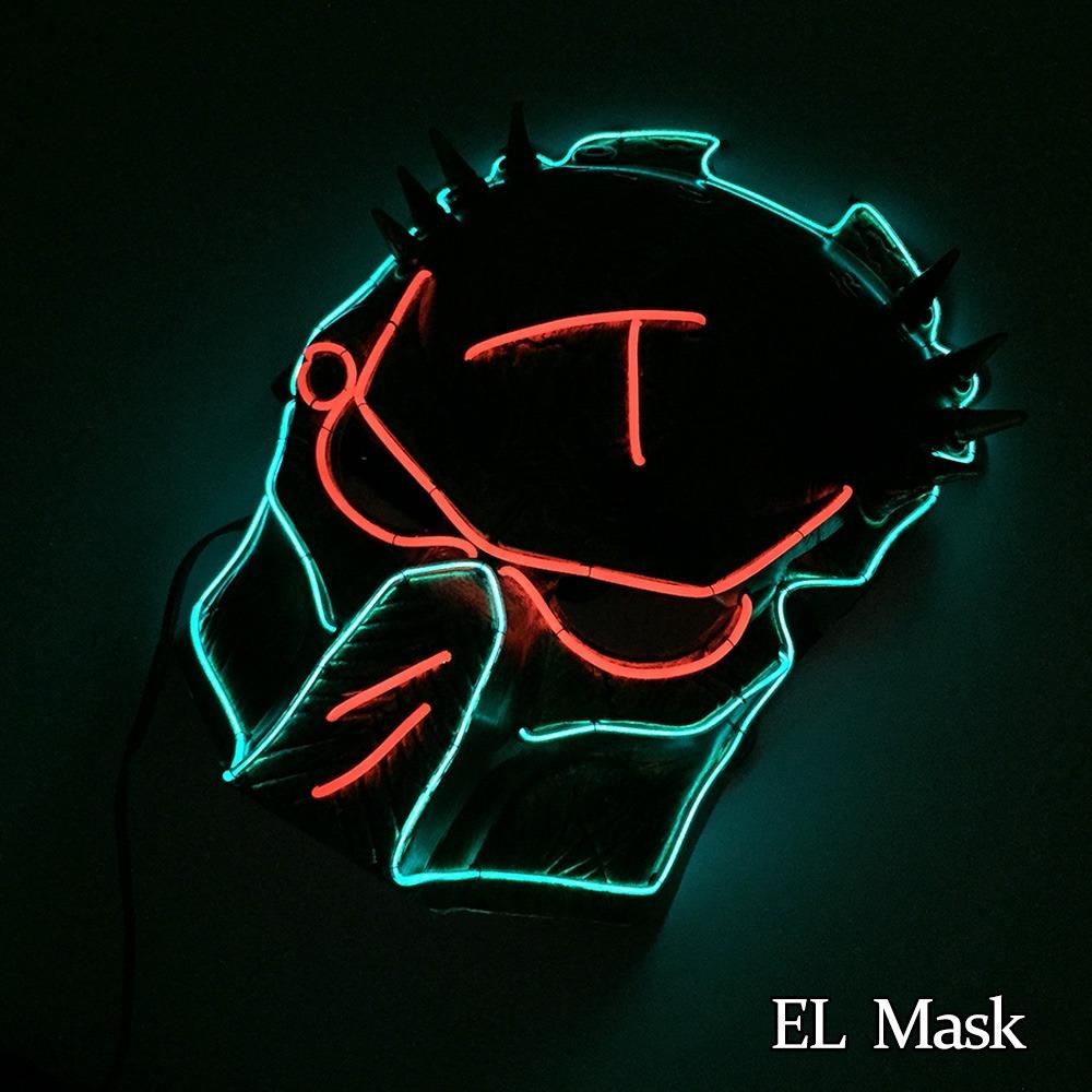 Mascara Cosplay Halloween The Purge El Wire Predador - R$ 129,00 em ...