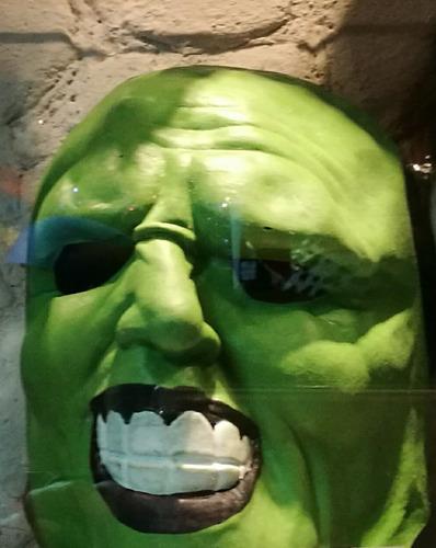mascara d bruja con capucha, alien, shrek,halloween y otros