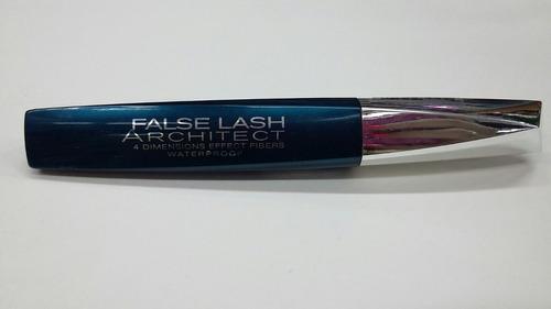 mascara d pestañas loreal false lash architect 4d waterproof