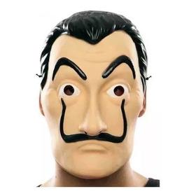 Máscara Da Série -  La Casa De Papel - Salvador Dali