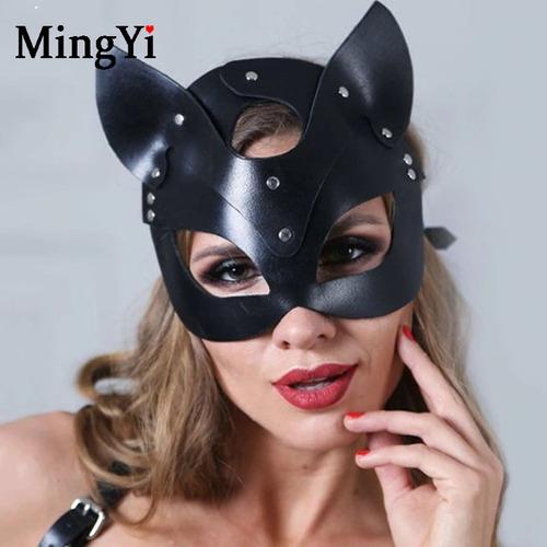mascara de árnes zorro black juego sexual  disfraz halloween