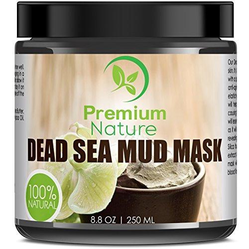 máscara de barro del mar muerto para la cara y el cuerpo