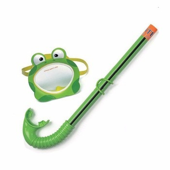 mascara de buceo con snorkle mod sapito intex dk tiendas