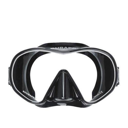 máscara de buceo scubapro solo scuba snorkeling, bk