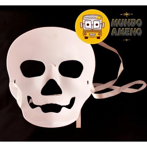 mascara de calavera estilo clásico de pirata skull mask