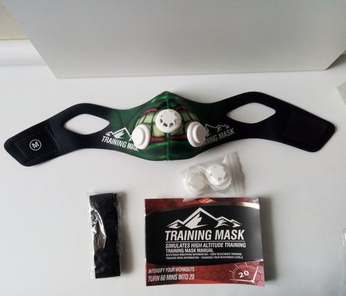 mascara de entrenamiento elevation tranning mask 2.0 joker