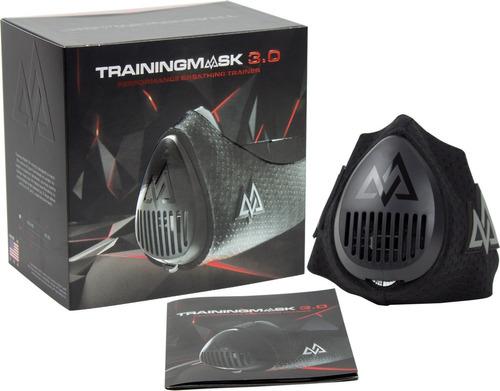 mascara de entrenamiento training mask 3.0, nuevo y sellado!