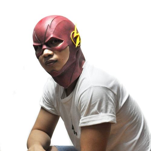máscara de flash disfraz carnaval envío gratis