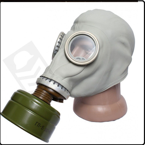 mascara de gás russa sovietica completa filtro gp5