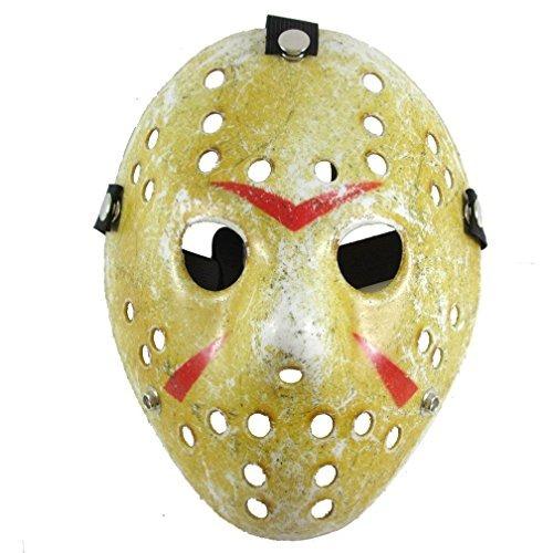 máscara de hockey de jason voorhees de viernes 13