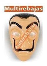 máscara de la serie casa de papel para halloween disfraz
