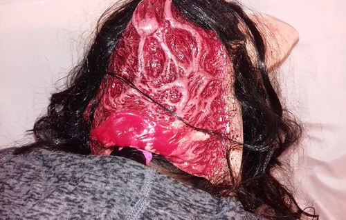máscara de latex pig cerdo pelicula saw  original 71137