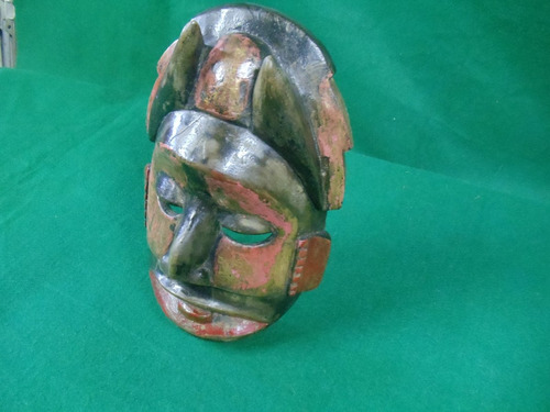 mascara de madera indigena