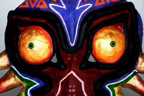 mascara de majora the legend of zelda. cosplay u ornamental