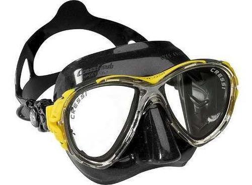 máscara de mergulho silicone eyes evo cressi