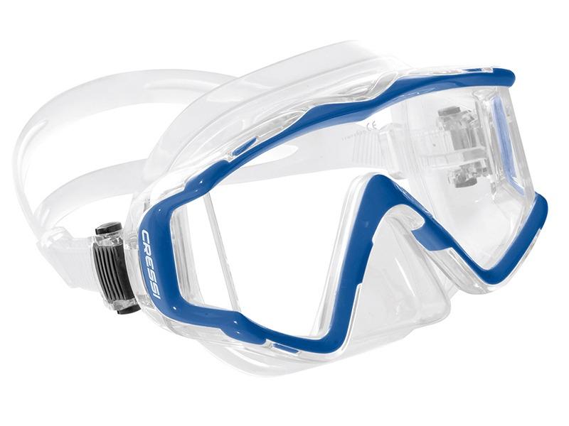 148ee28d0 máscara de mergulho silicone visão panorâmica 3 cressi top! Carregando zoom.