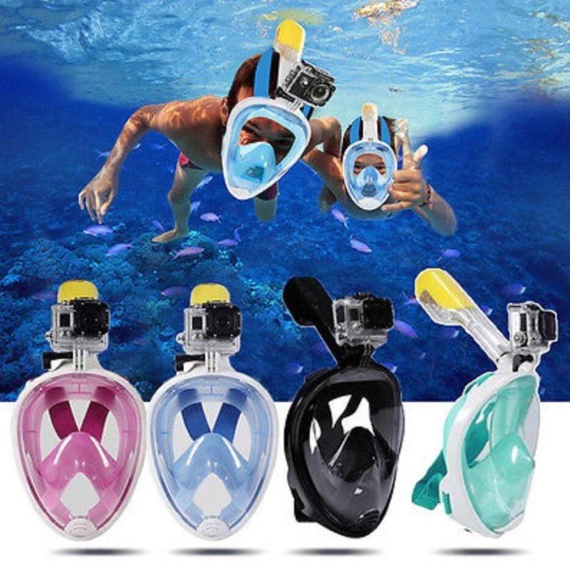 6600d4ee1 máscara de mergulho snorkeling full face. Carregando zoom.