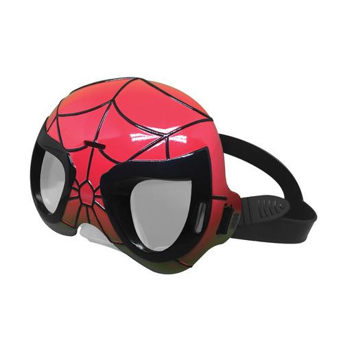 mascara de natacao - marvel - homem aranha candide