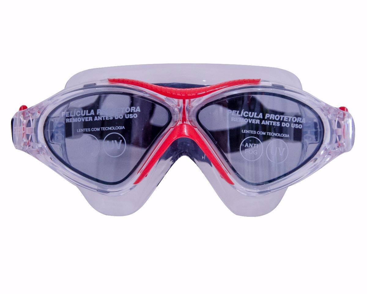26f00d410 máscara de natação speedo - vermelha -omega swim mask -nova. Carregando  zoom.