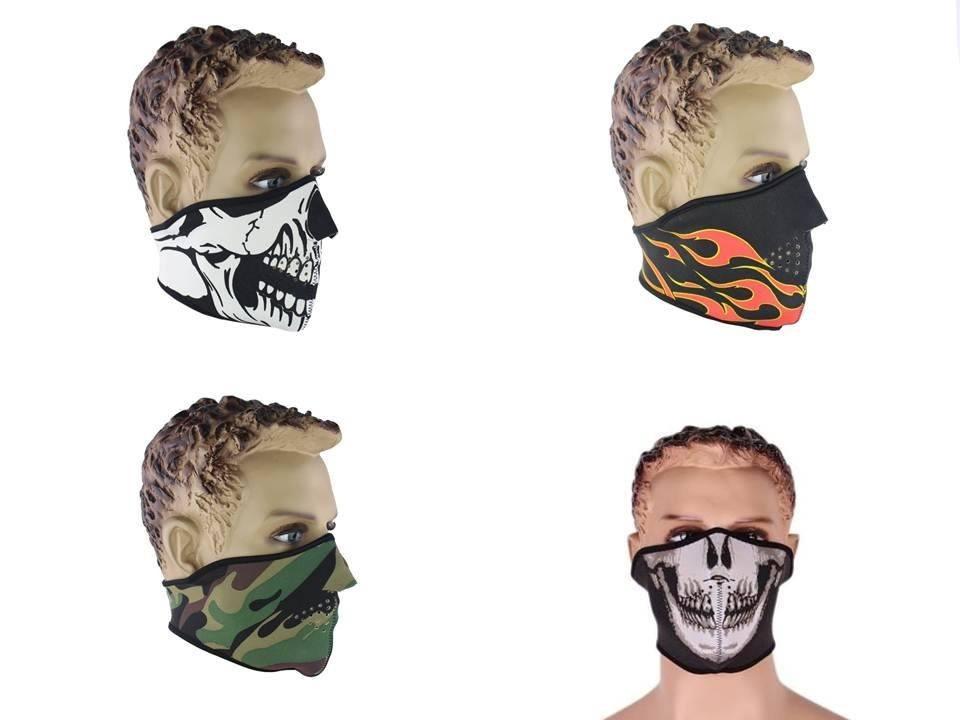 Neopreno Mascara de Cara y Cuello para Deportista Motorista Esquiador T5