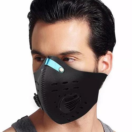 mascara de neopreno negro bicicleta deportes extremos d1041
