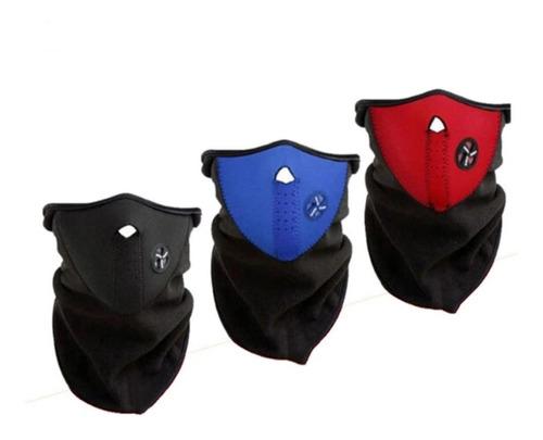 máscara de neopreno térmica para moto o bici!!