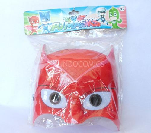 mascara de owlette pj masks para niños con luz led