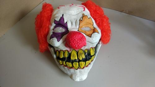 máscara de palhaço assustador terror 4 - pronta entrega