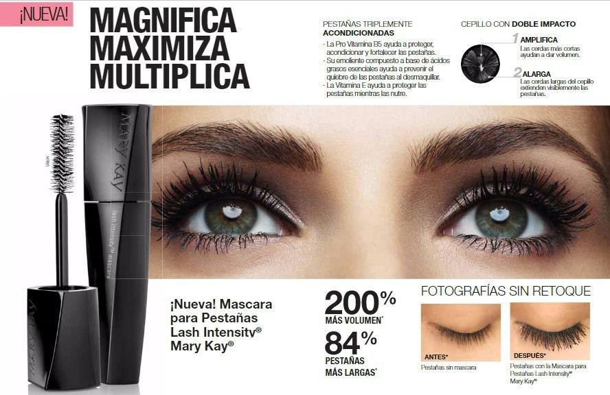e4b6f4bd203 Mascara De Pestañas Lash Intensity Mary Kay - $ 599,00 en Mercado Libre