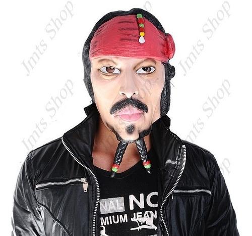 máscara de pirata cosplay p/ festa fantasia e haloween