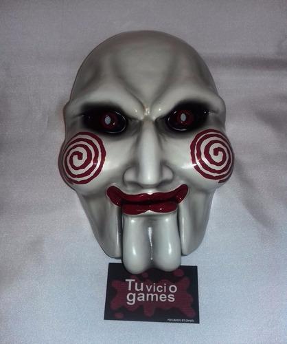 máscara de polietileno tipo careta de billy saw mx
