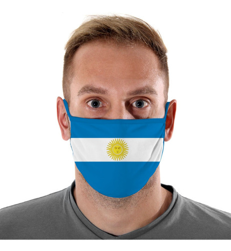 mascara de protecao argentina adulto