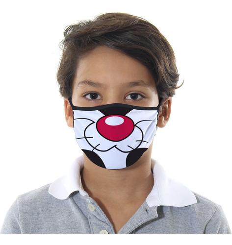 mascara de protecao frajola infantil m