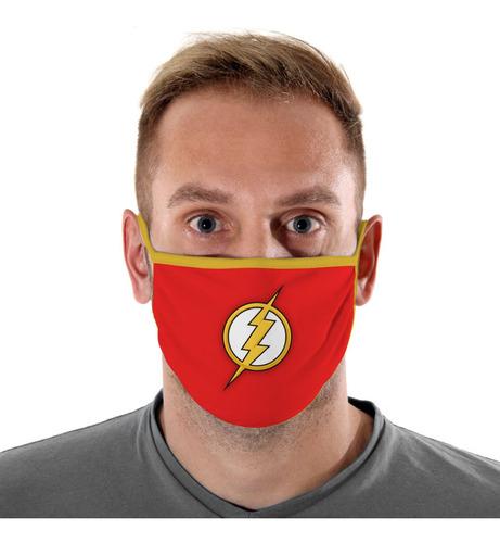 mascara de protecao logo flash adulto