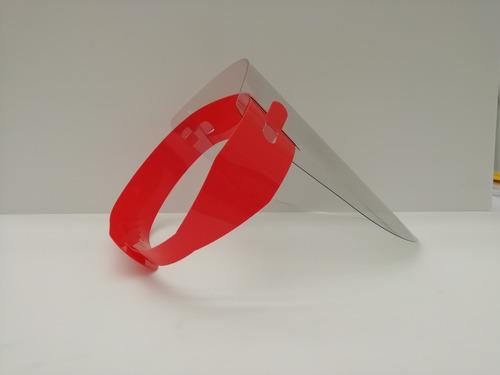 máscara de protección antifluidos
