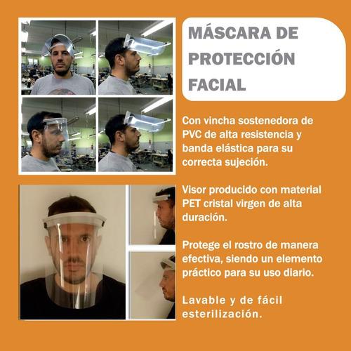 máscara de protección facial