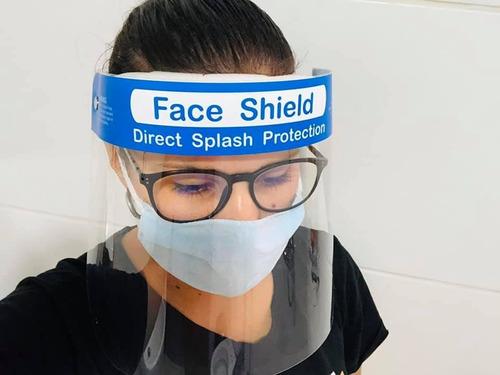 máscara de protección /protector facial transparente