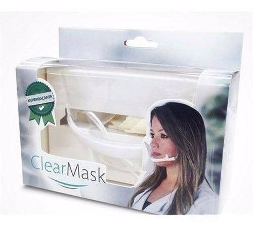 mascara de proteção clearmask estek preserva maquiagem