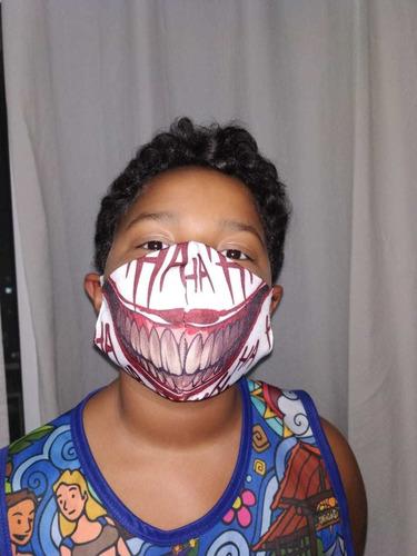 máscara de proteção tema coringa (3 camadas)
