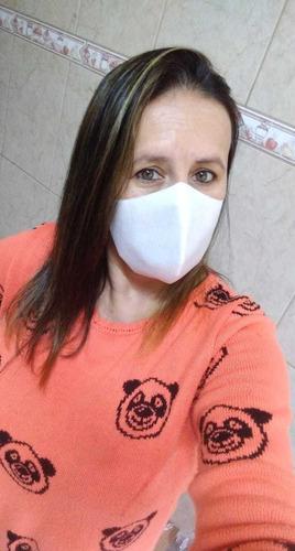 máscara de proteção tnt e tecido lavável não descartável